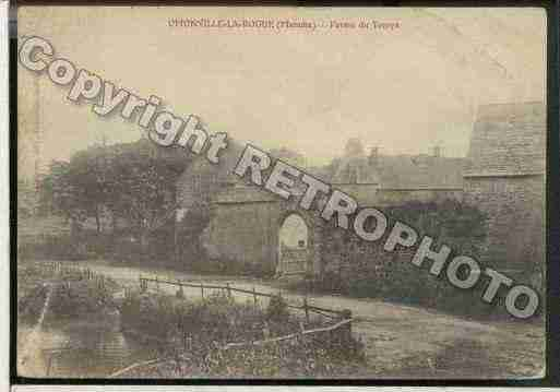 Ville de OMONVILLELAROGUE Carte postale ancienne