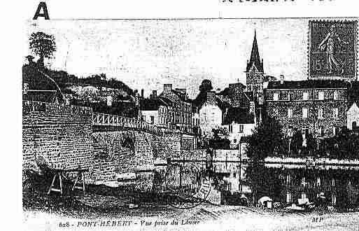 Ville de PONTHEBERT Carte postale ancienne