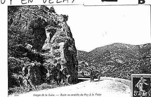 Ville de PUYENVELAY(LE) Carte postale ancienne
