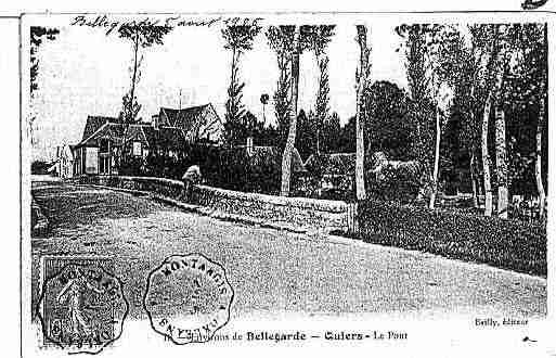 Ville de QUIERSSURBEZONDE Carte postale ancienne