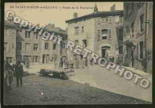 Ville de SAINTDIDIERENVELAY Carte postale ancienne