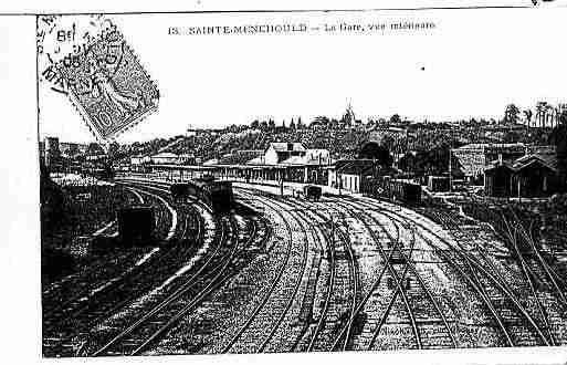 Ville de SAINTEMENEHOULD Carte postale ancienne