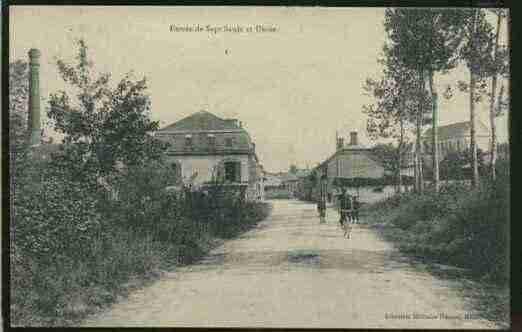 Ville de SEPTSAULX Carte postale ancienne