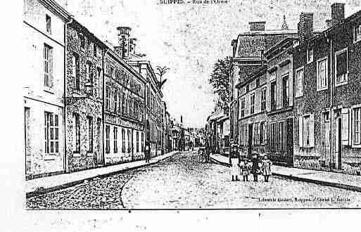 Carte postale ancienne de la ville de suippes ph036554 d for Piscine de suippes