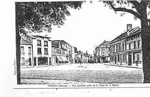 Carte postale ancienne de la ville de suippes ph036559 d for Piscine de suippes