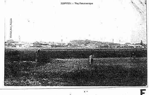 Carte postale ancienne de la ville de suippes ph036566 h for Piscine de suippes