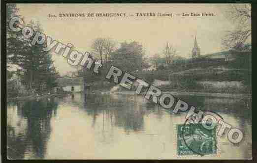 Ville de TAVERS Carte postale ancienne