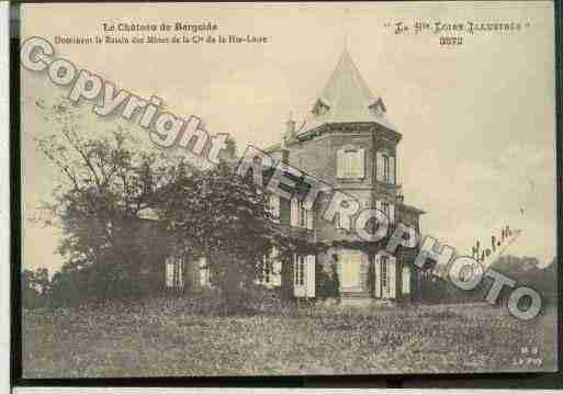 Ville de VERGONGHEON Carte postale ancienne