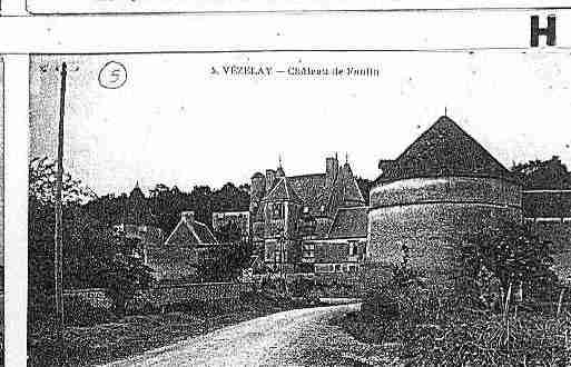 Ville de VEZELAY Carte postale ancienne