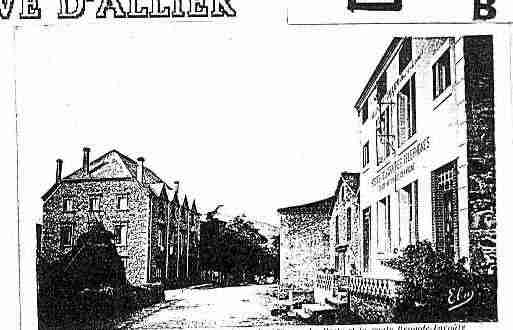 Ville de VILLENEUVED\'ALLIER Carte postale ancienne