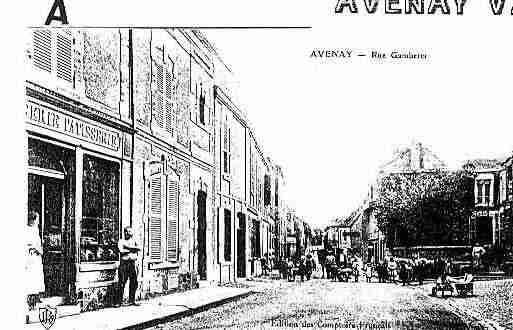 Ville de AVENAYVALD\'OR Carte postale ancienne