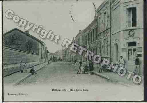 Ville de BETHENIVILLE Carte postale ancienne