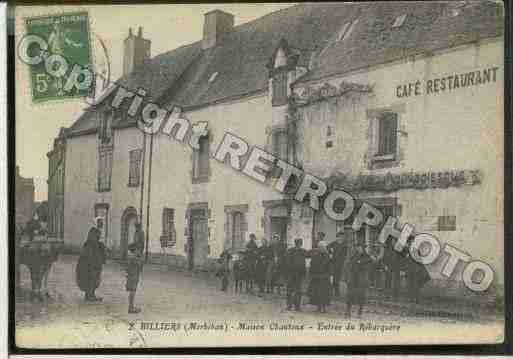 Ville de BILLIERS Carte postale ancienne