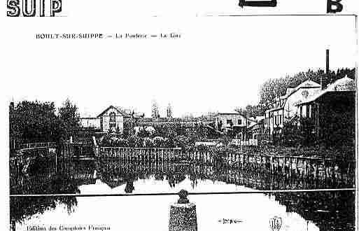 Ville de BOULTSURSUIPPE Carte postale ancienne