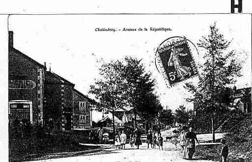 Ville de CHALINDREY Carte postale ancienne
