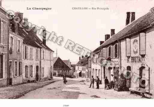 Ville de CHATILLONSURMARNE Carte postale ancienne