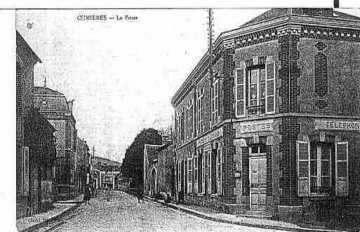 Ville de CUPERLY Carte postale ancienne