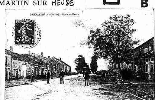 Ville de DAMMARTINSURMEUSE Carte postale ancienne