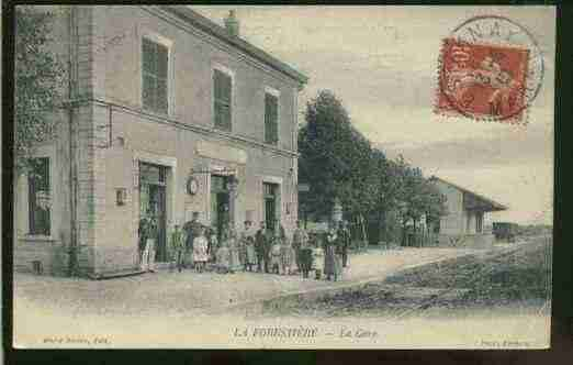 Ville de FORESTIERE(LA) Carte postale ancienne