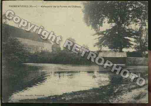 Ville de Fromentieres, PH037125-C. Photo à partir d'une carte postale ancienne