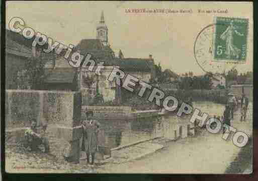 Ville de LAFERTESURAUBE Carte postale ancienne