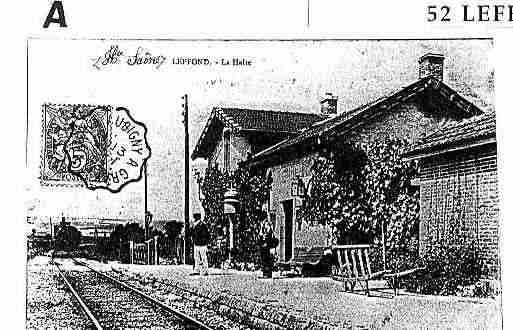 Ville de LEFFONDS Carte postale ancienne