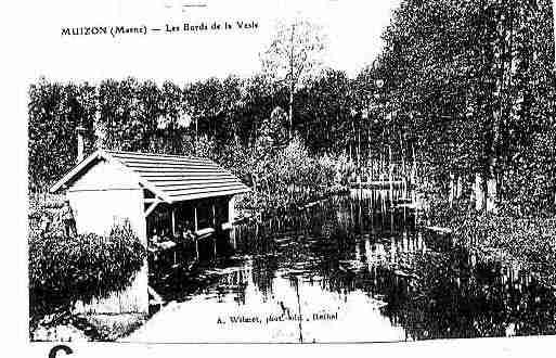 Ville de MUIZON Carte postale ancienne