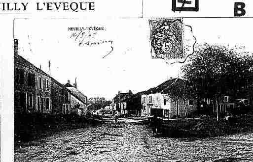 Ville de NEUILLYL\'EVEQUE Carte postale ancienne