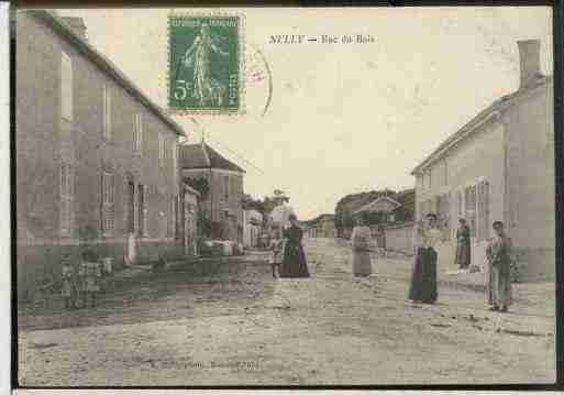 Ville de NULLY Carte postale ancienne