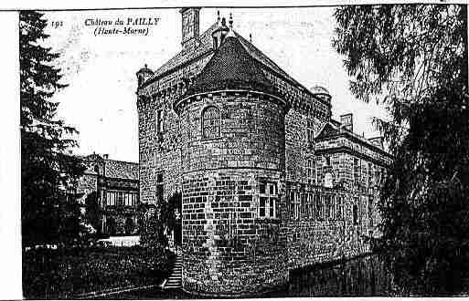 Ville de PAILLY Carte postale ancienne