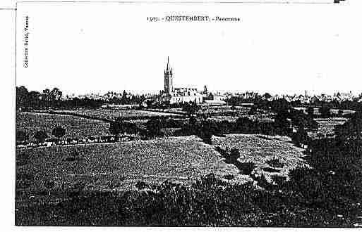 Ville de QUESTEMBERT Carte postale ancienne