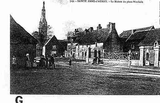 Ville de SAINTEANNED\'AURAY Carte postale ancienne