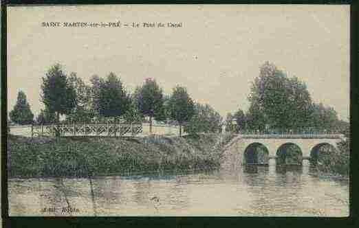 Ville de SAINTMARTINSURLEPRE Carte postale ancienne