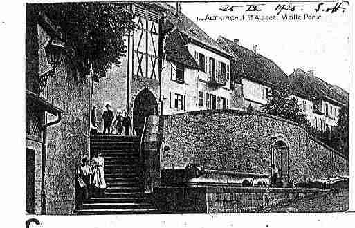 Ville de ALTKIRCH Carte postale ancienne