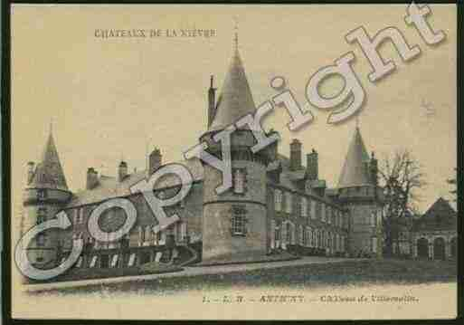 Ville de ANTHIEN Carte postale ancienne