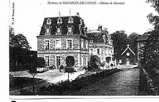 Carte postale ancienne de la ville de BAGNOLESDEL\'ORNE
