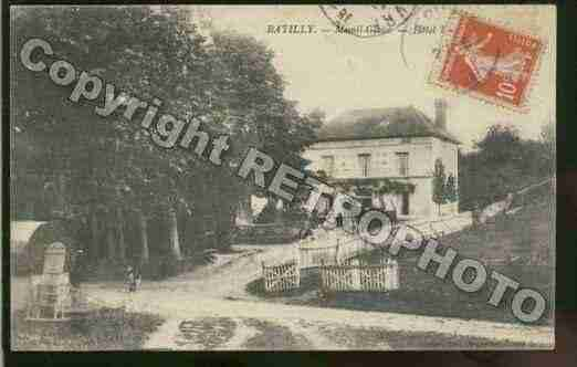 Ville de BATILLY Carte postale ancienne