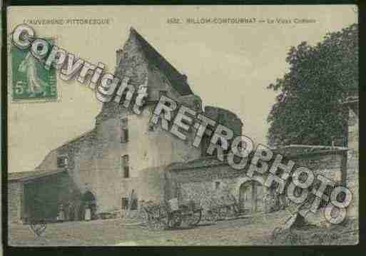 Ville de BILLOM Carte postale ancienne