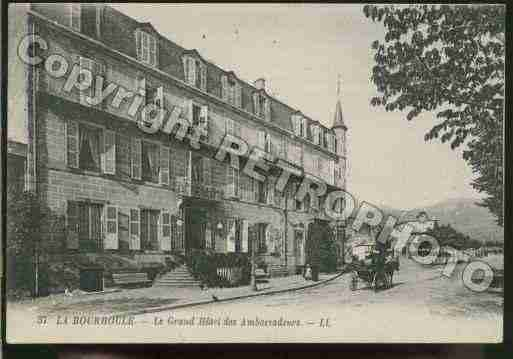 Ville de BOURBOULE(LA) Carte postale ancienne