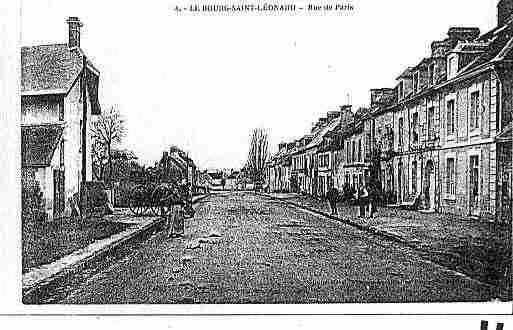 Ville de BOURGSAINTLEONARD(LE) Carte postale ancienne