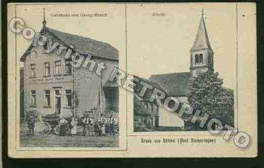Ville de BUTTEN Carte postale ancienne