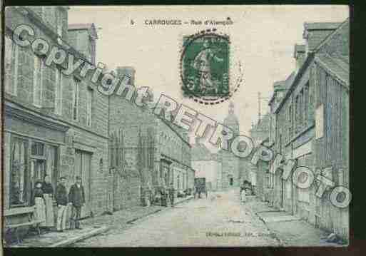 Ville de CARROUGES Carte postale ancienne