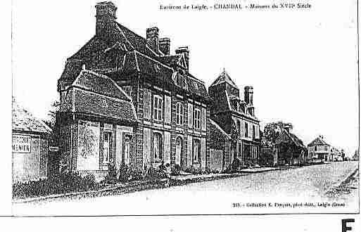 Ville de CHANDAI Carte postale ancienne
