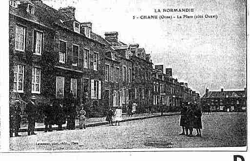 Ville de CHANU Carte postale ancienne