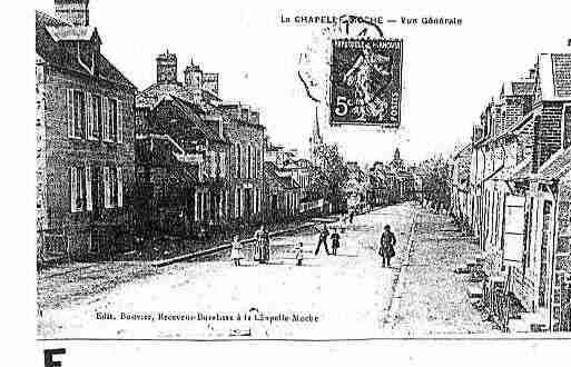 Ville de CHAPELLED\'ANDAINE(LA) Carte postale ancienne