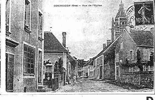 Ville de COURGEON Carte postale ancienne
