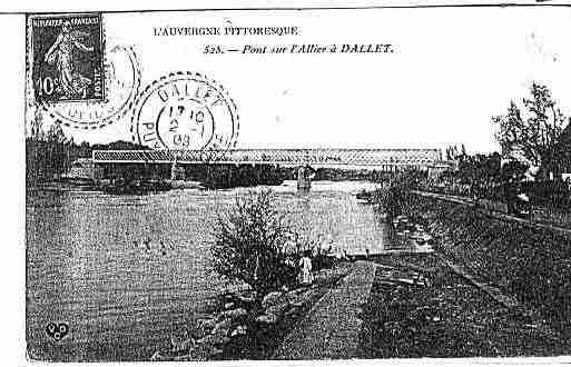 Ville de DALLET Carte postale ancienne