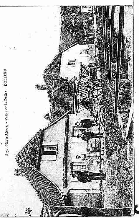 Ville de DOLLEREN Carte postale ancienne