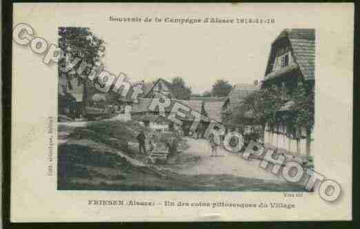 Ville de FRIESEN Carte postale ancienne