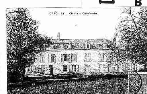 Ville de GARCHIZY Carte postale ancienne